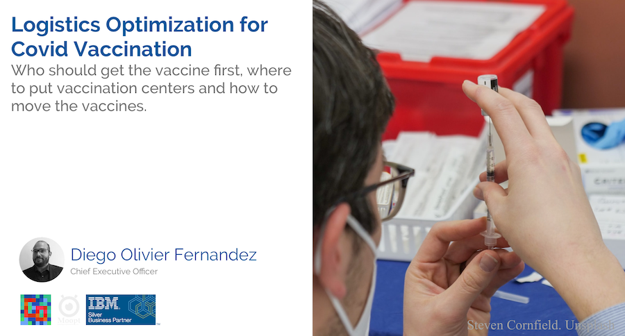 Read more about the article Logistics Optimization for Covid Vaccination