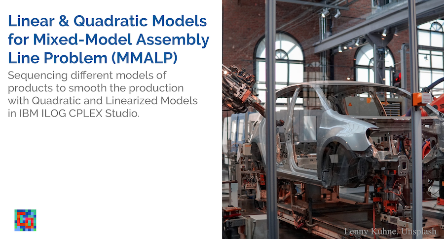 Read more about the article Mixed-Model Assembly Line Problem