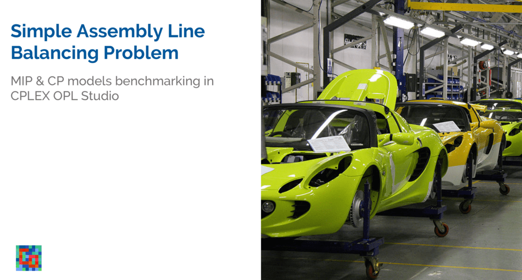 You are currently viewing Simple Assembly Line Balancing Problem (SALBP): MIP & CP Models Benchmarking